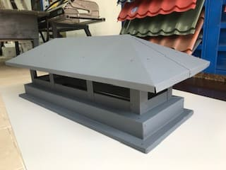 Дымник-флюгарка Стандартный 810х760 мм