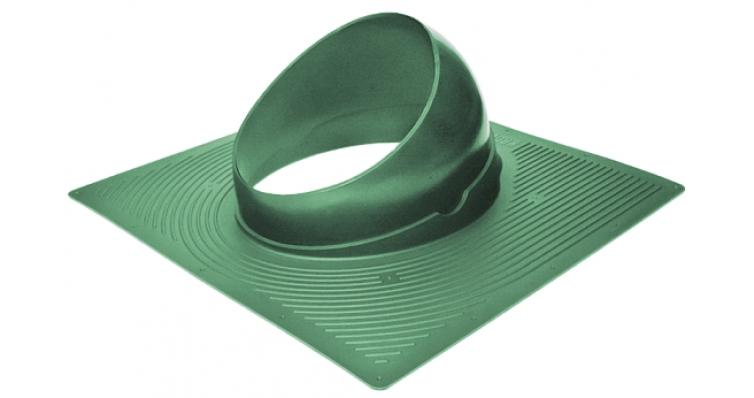 Проходной элемент Krovent Base-VT 125/150 зеленый
