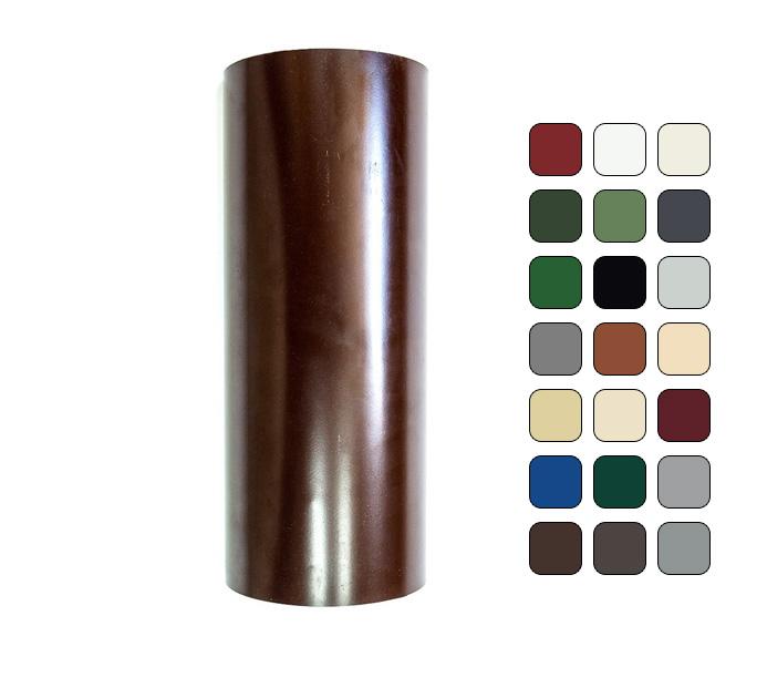 Труба водосточная 120/100 RAL 5005 (Алюминий)