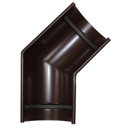 Угол желоба 135 градусов 150/100 RAL 8017 (Алюминий)