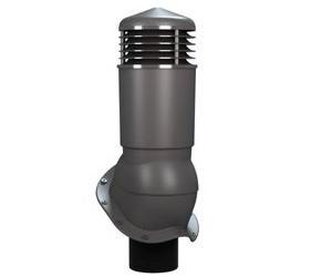 К-95 Вентиляционный выход ИЗОЛИРОВАННЫЙ (утепленный) D 125/110 мм Н 500 мм с переходником 125/110 мм RAL 7024