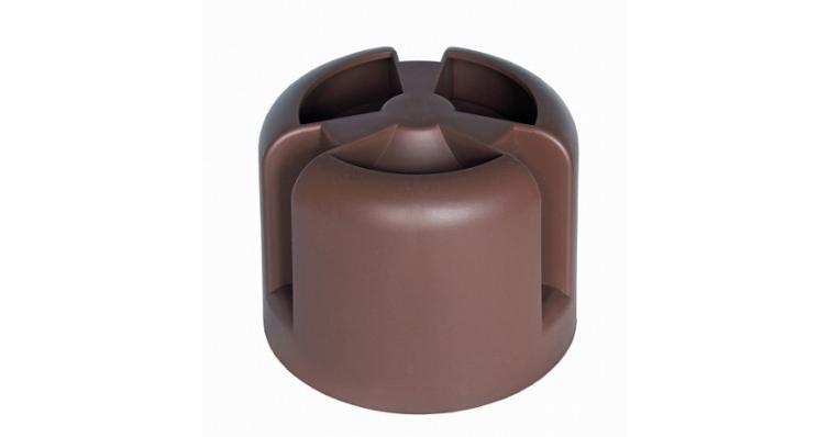 Колпак Krovent Hupcap 110 коричневый
