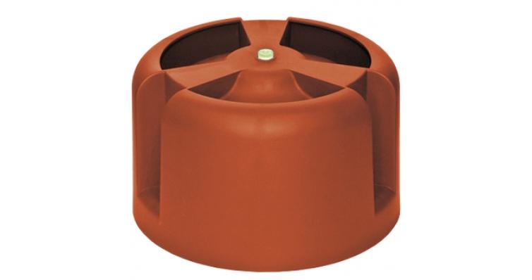 Колпак Krovent Hupcap 270 кирпичный
