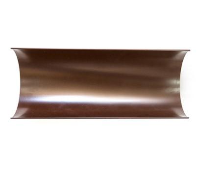 Желоб водосточный 150/100 RAL 8017 (Алюминий)