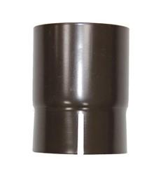Соединитель трубы 150/100 RAL 8017 (Алюминий)