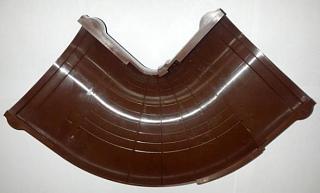 Угол универсальный регулируемый 90-150 гр 125/82 RAL 8017