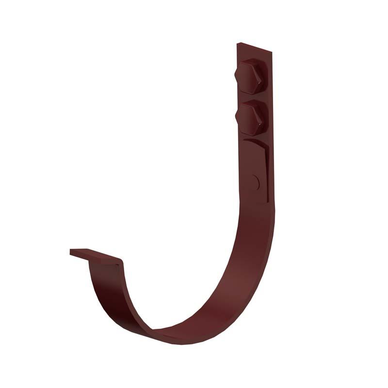 Держатель желоба карнизный D150х165 Металл Профиль Престиж RAL 8017 (Порошковая окраска)