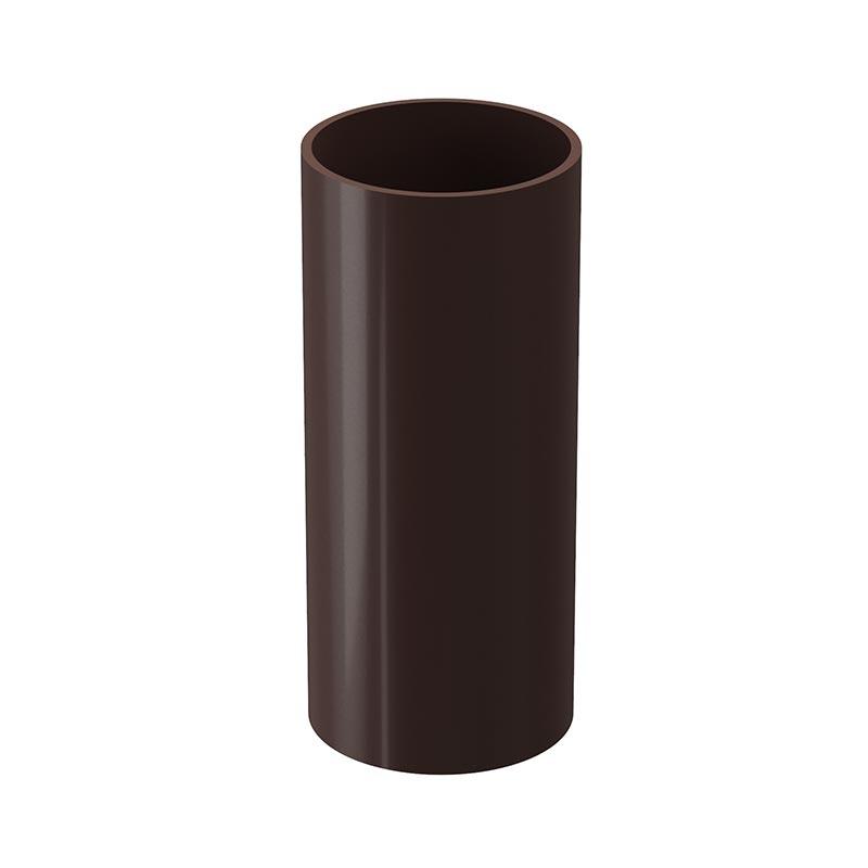 Труба водосточная 141/100 Docke Lux RAL 8017 Шоколад