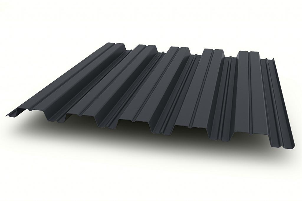 Профнастил НС35-1000 0,5 мм с покрытием Полиэстер RAL 7024