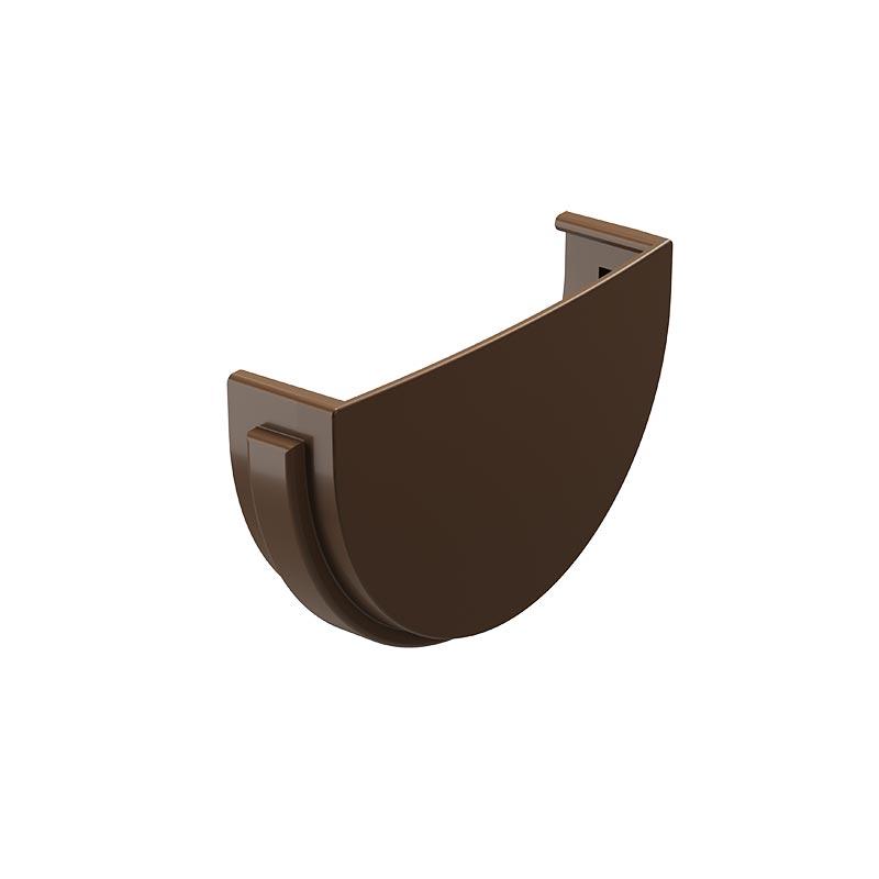 Заглушка желоба Docke Стандарт RAL 8017 Светло-коричневый