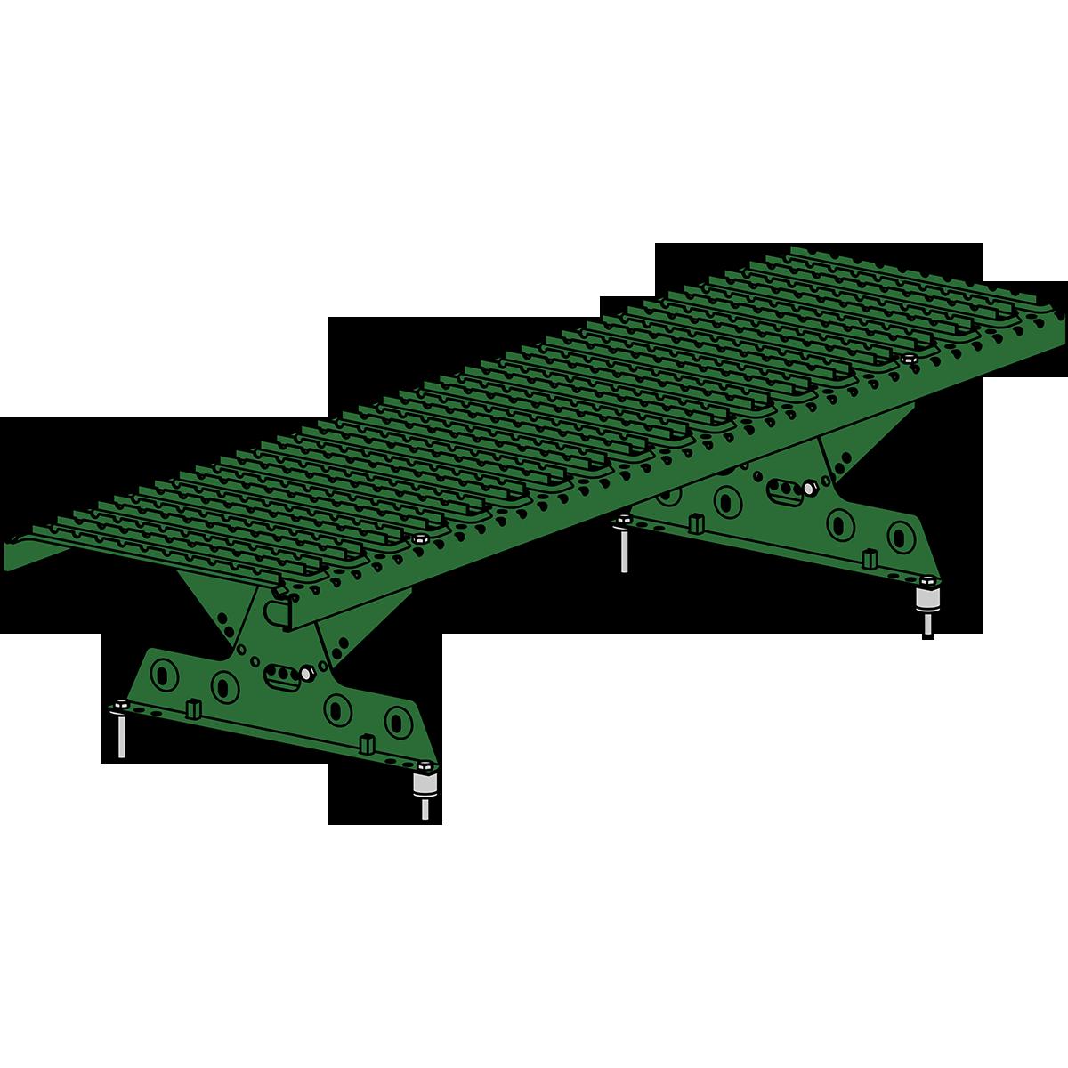 Мостик кровельный ROOFSYSTEMS ELITE 330 NEXT 1,2 м RAL 6002 Зеленый лист