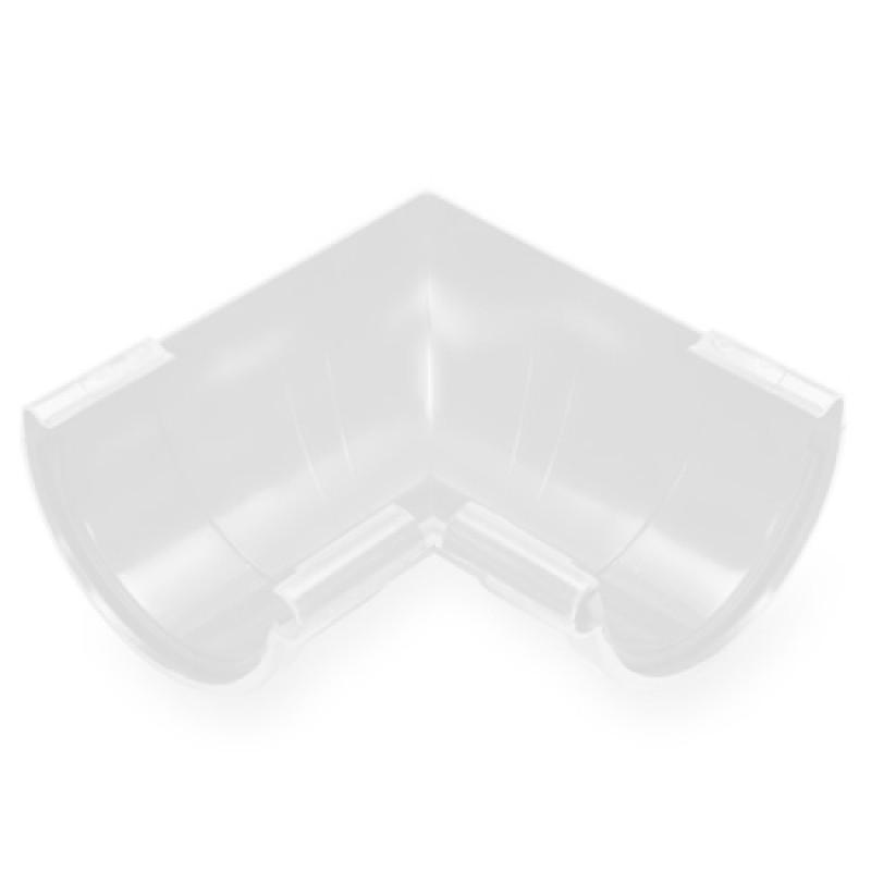 Угол желоба внутренний PVC Galeco 90 градусов 152 RAL 9010