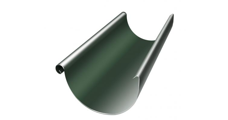 Желоб водосточный полукруглый Grand Line 125 мм 3 м RR 11 темно-зеленый