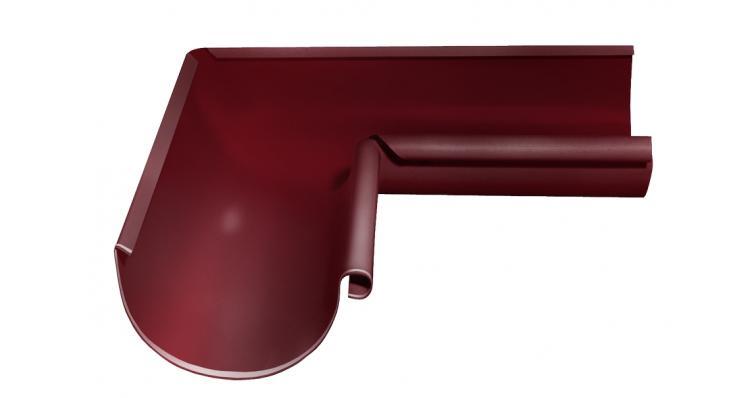 Угол желоба внутренний 90 градусов Grand Line 125 мм RAL 3005 красное вино