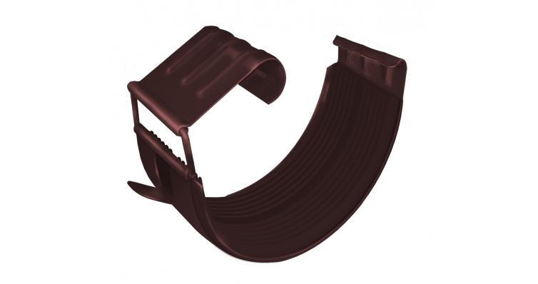 Соединитель желоба Grand Line 150 мм RAL 8017 шоколад