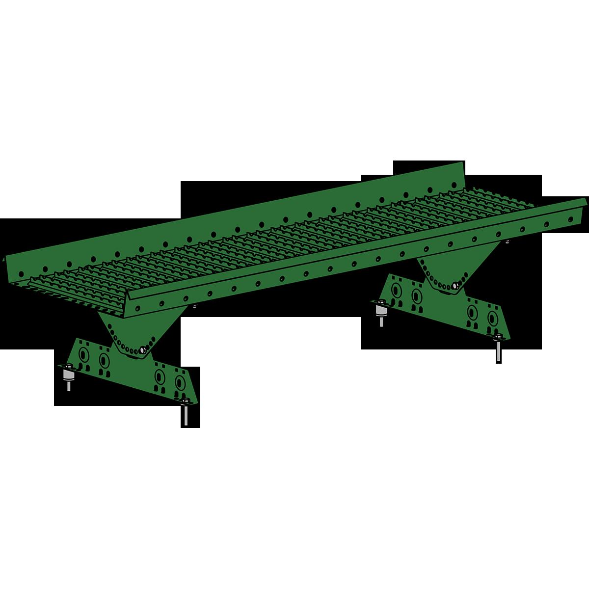 Мостик кровельный ROOFSYSTEMS PRESTIGE ZN 360 NEXT 1,2 м RAL 6002 Зеленый лист