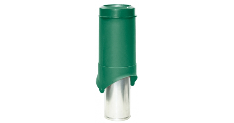 Выход вентиляции Krovent Pipe-VT 150 зеленый