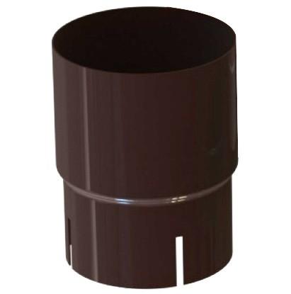 Соединитель трубы 120/100 RAL 8017 (Алюминий)