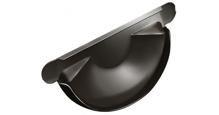 Заглушка торцевая универсальная Grand Line 150 мм RR 32 темно-коричневый