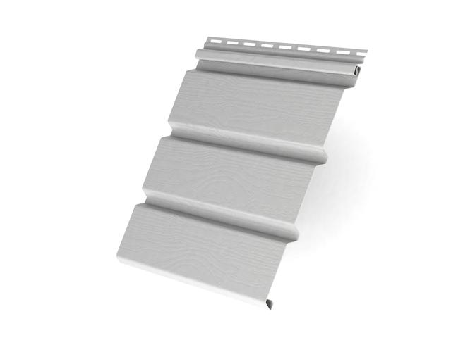 Пластиковый софит Grand Line T4 Классика без перфорации 3000 мм Белый