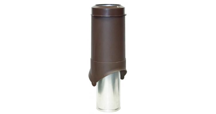 Выход вентиляции Krovent Pipe-VT 150 коричневый