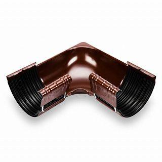 Угол желоба внутренний PVC Galeco 124 градусов 152 RAL 8019