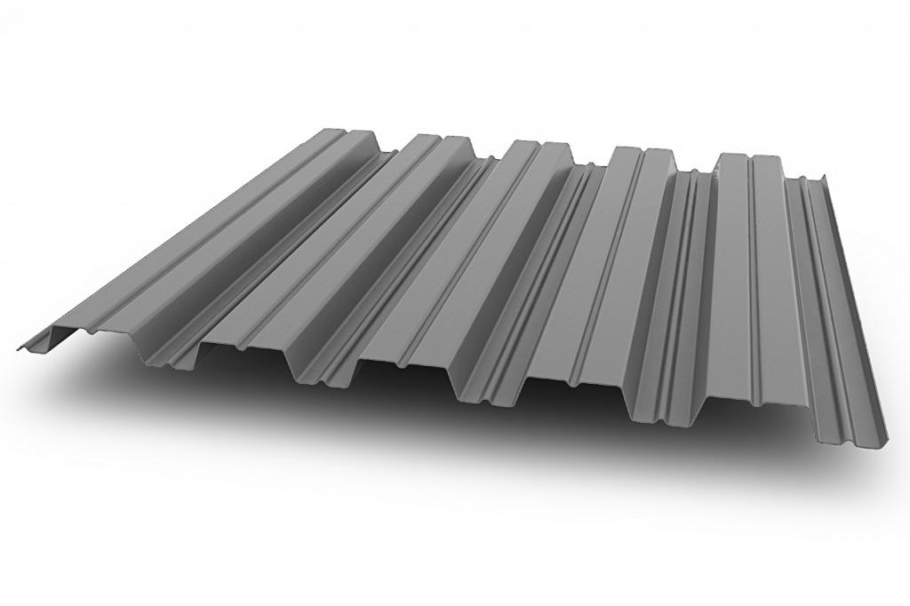 Профнастил НС35-1000 0,5 мм с покрытием Полиэстер RAL 7004