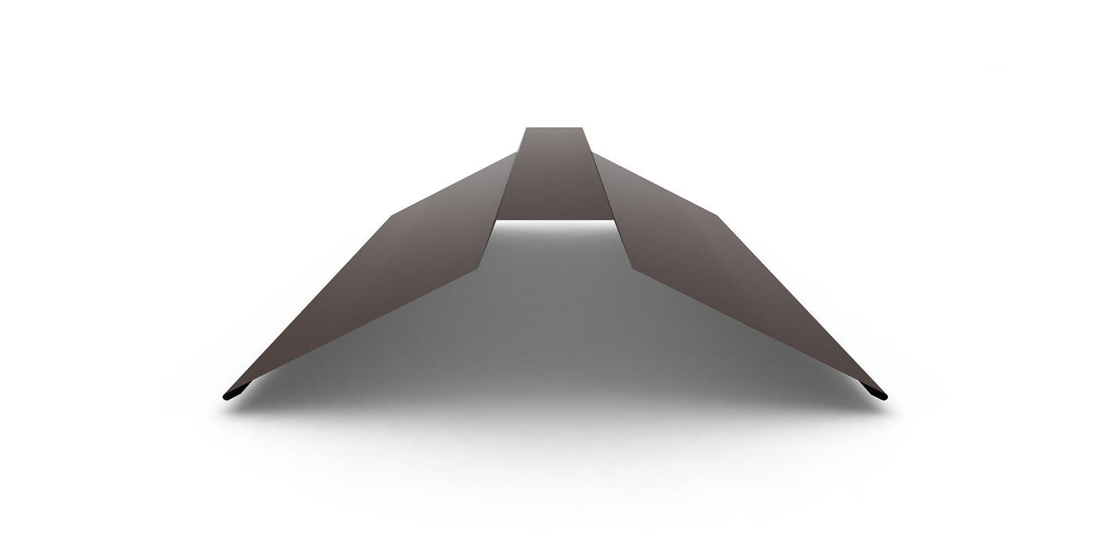 Планка конька плоского широкого