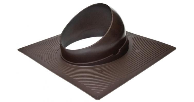Проходной элемент Krovent Base-VT 125/150 коричневый