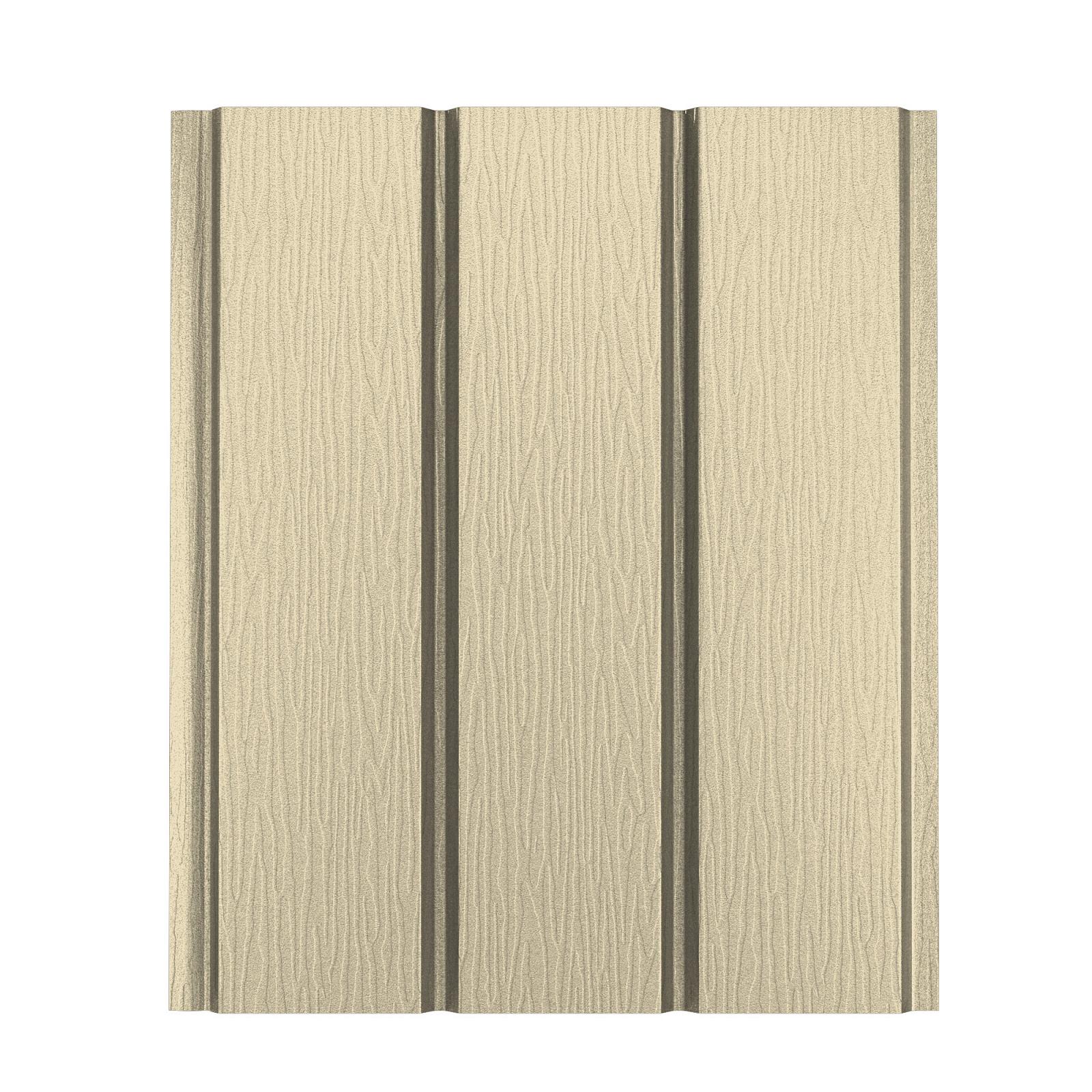 Софит алюминиевый без перфорации Aquasystem Polyester Matt, 2,4 м RAL 1005