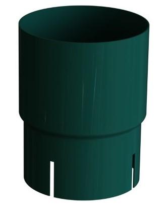 Соединитель трубы 120/100 RAL 6005 (Алюминий)