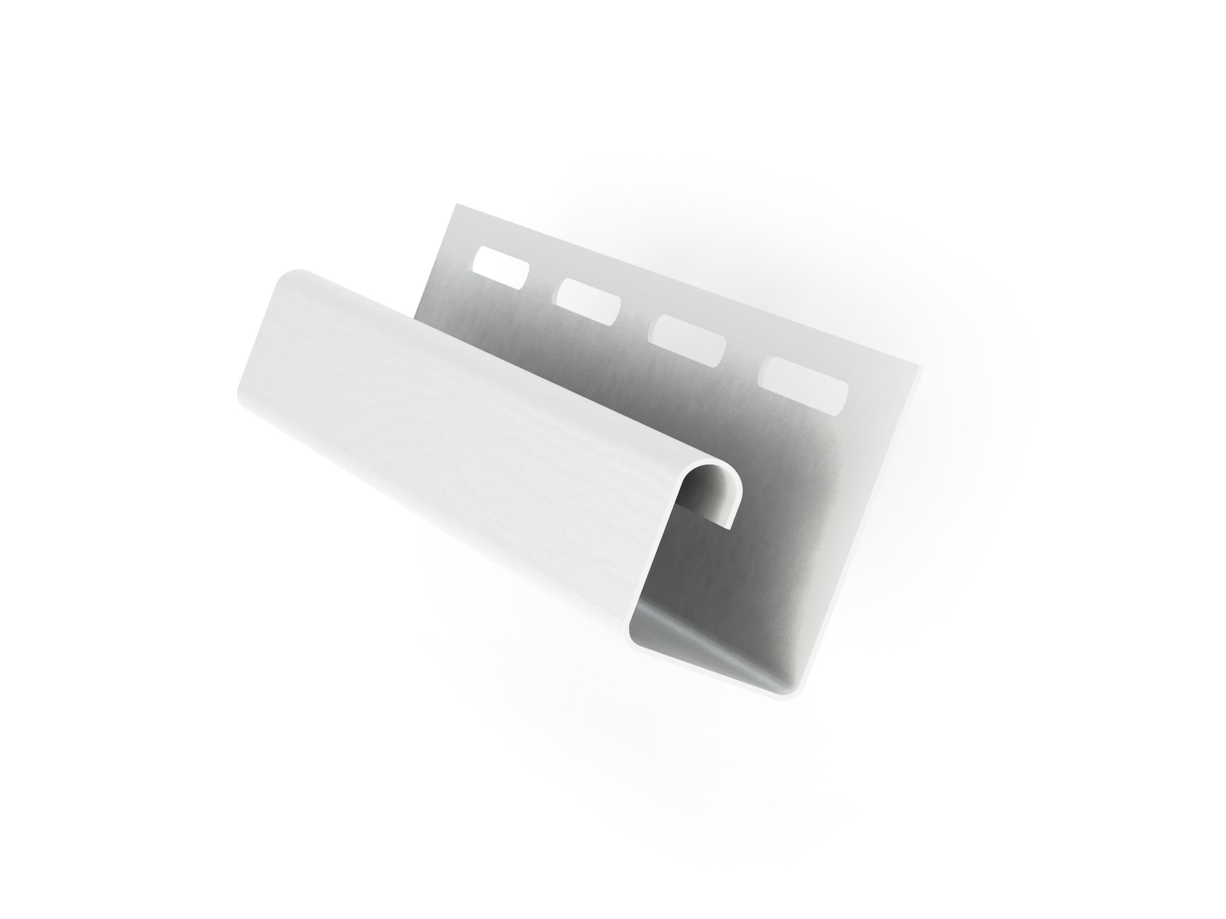 J-профиль Grand Line 3000 мм Белый