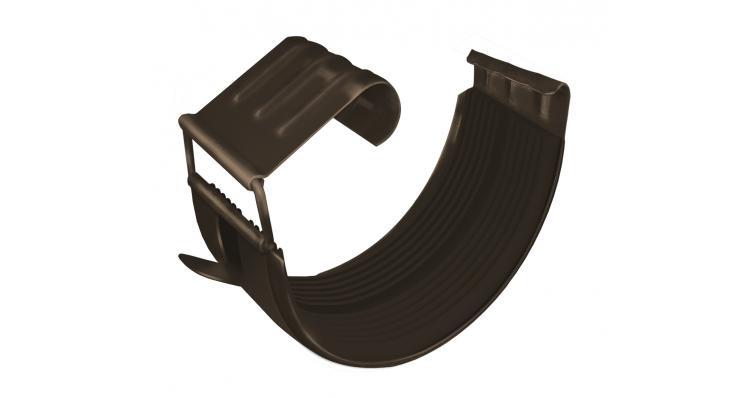 Соединитель желоба Grand Line 150 мм RR 32 темно-коричневый