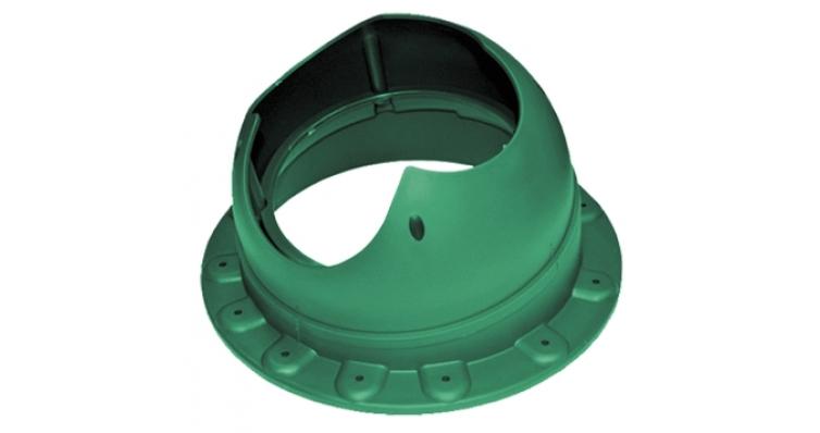 Проходной элемент Krovent Base-VT Seam 110 зеленый