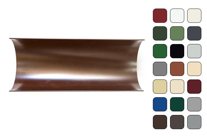 Желоб водосточный 120/100 RAL 6020 (Алюминий)