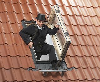 Окно Выход на крышу GXL 3070
