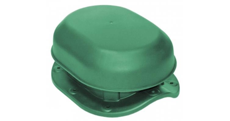 Аэратор скатный Krovent Aero-Vent Wave зеленый