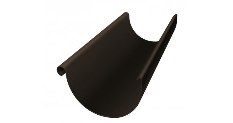 Желоб водосточный полукруглый Grand Line 150 мм 3 м RR 32 темно-коричневый