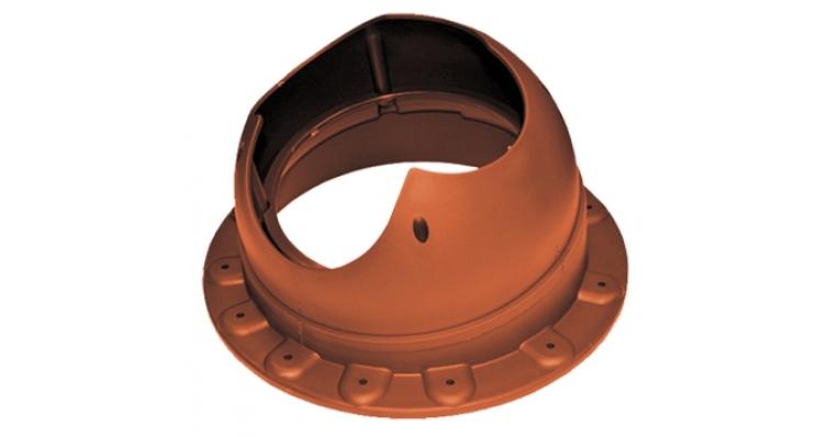 Проходной элемент Krovent Base-VT Seam 110 кирпичный