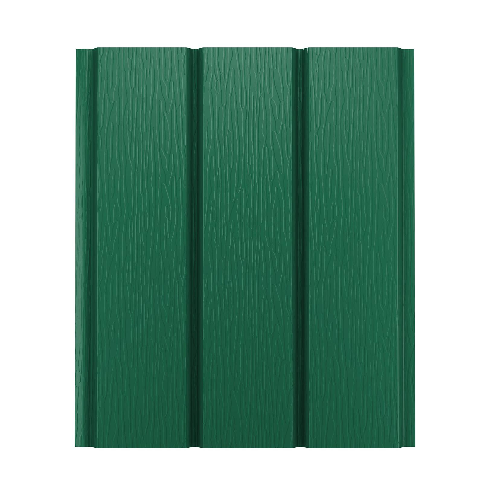 Софит металлический AquaSystem без перфорации Pural 275 г/м2, 2,4 м зеленый RAL 6005