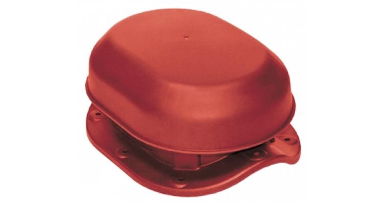 Аэратор скатный Krovent Aero-Vent Wave красный