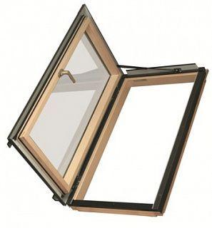 Окно мансардное распашное FWL U3 руч.слева