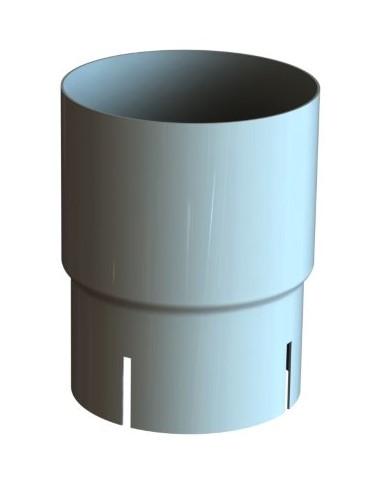 Соединитель трубы 120/100 RAL 9010 (Алюминий)