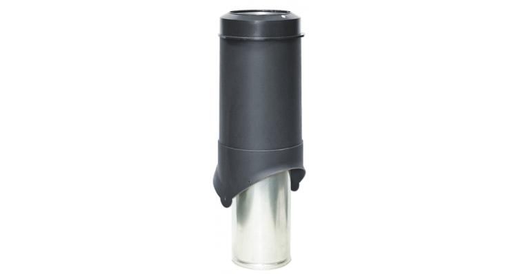 Выход вентиляции Krovent Pipe-VT 150 черный