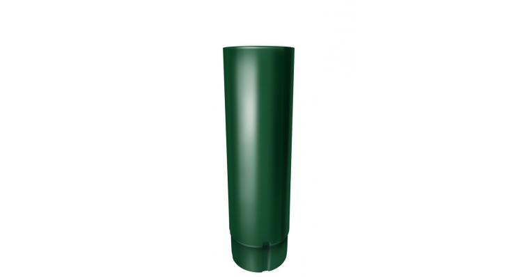 Труба круглая Grand Line 90 мм 3 м RAL 6005 зеленый мох
