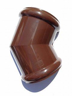 Угол желоба универсальный 135 гр 125/82 RAL 8017