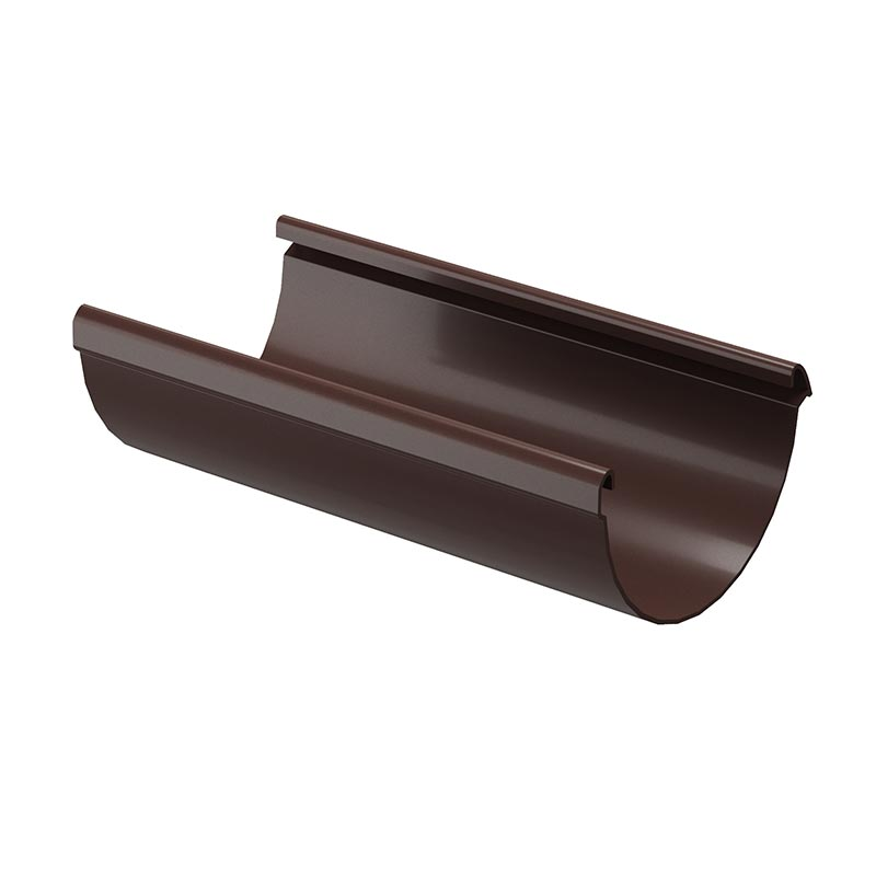 Желоб водосточный 141/100 Docke Lux RAL 8017 Шоколад