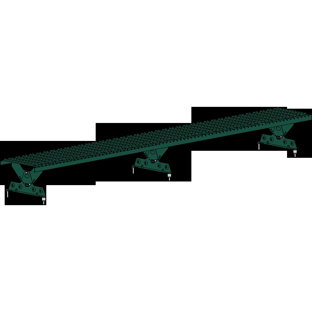 Мостик кровельный ROOFSYSTEMS ELITE 330 NEXT 2,5 м RAL 6005 Зеленый мох