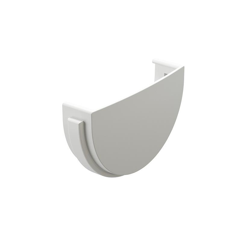 Заглушка желоба Docke Стандарт RAL 9010 Белый