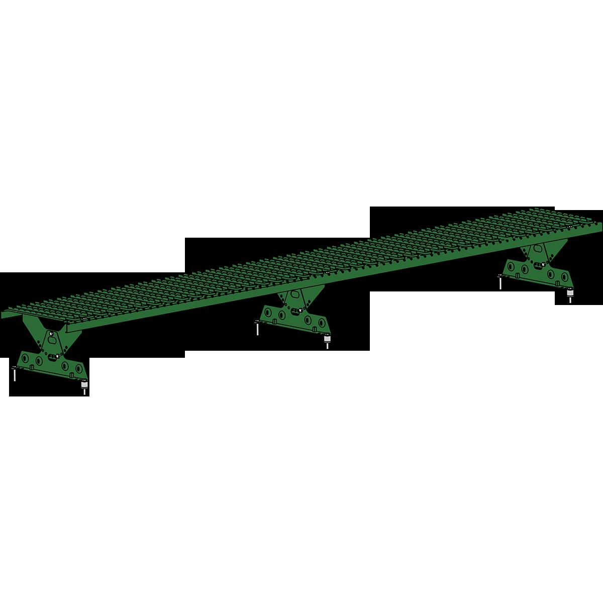Мостик кровельный ROOFSYSTEMS ELITE 330 NEXT 2,5 м RAL 6002 Зеленый лист